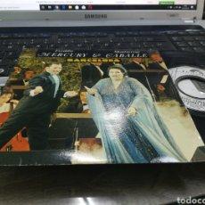 Discos de vinilo: FREDDIE MERCURY & MONTSERRAT CABALLERO SINGLE BARCELONA FRANCIA 1987. Lote 178890387