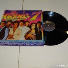 Discos de vinilo: EPIC 7 LP 1983. ANA BELÉN - MOCEDADES- PLACIDO DOMINGO- VICTOR MANUEL....... Lote 178895543