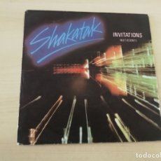 Discos de vinilo: DISCO VINILO MAXI SINGLE SHAKATAK INVITACIONES. Lote 178897086
