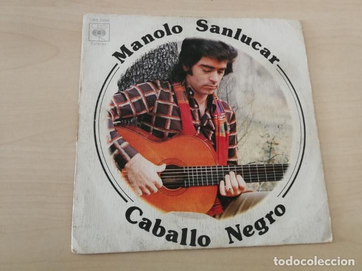 DISCO VINILO MAXI SINGLE MANOLO ESCOBAR CABALLO NEGRO (Música - Discos de Vinilo - Maxi Singles - Otros estilos)
