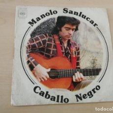 Discos de vinilo: DISCO VINILO MAXI SINGLE MANOLO ESCOBAR CABALLO NEGRO. Lote 178897168