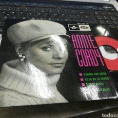 Discos de vinilo: ANNIE CORDY EP T'AURAS TON SAPIN + 3 FRANCIA RAREZA. Lote 178897251