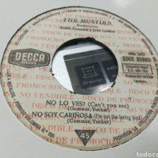 Discos de vinilo: THE RUSTIKS EP PROMOCIONAL NO LO VES? + 3 ESPAÑA 1965. Lote 178898286
