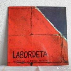 Discos de vinilo: LABORDETA LP CANTES DE TIERRA ADENTRO-PORTADA DOBLE. Lote 178902248