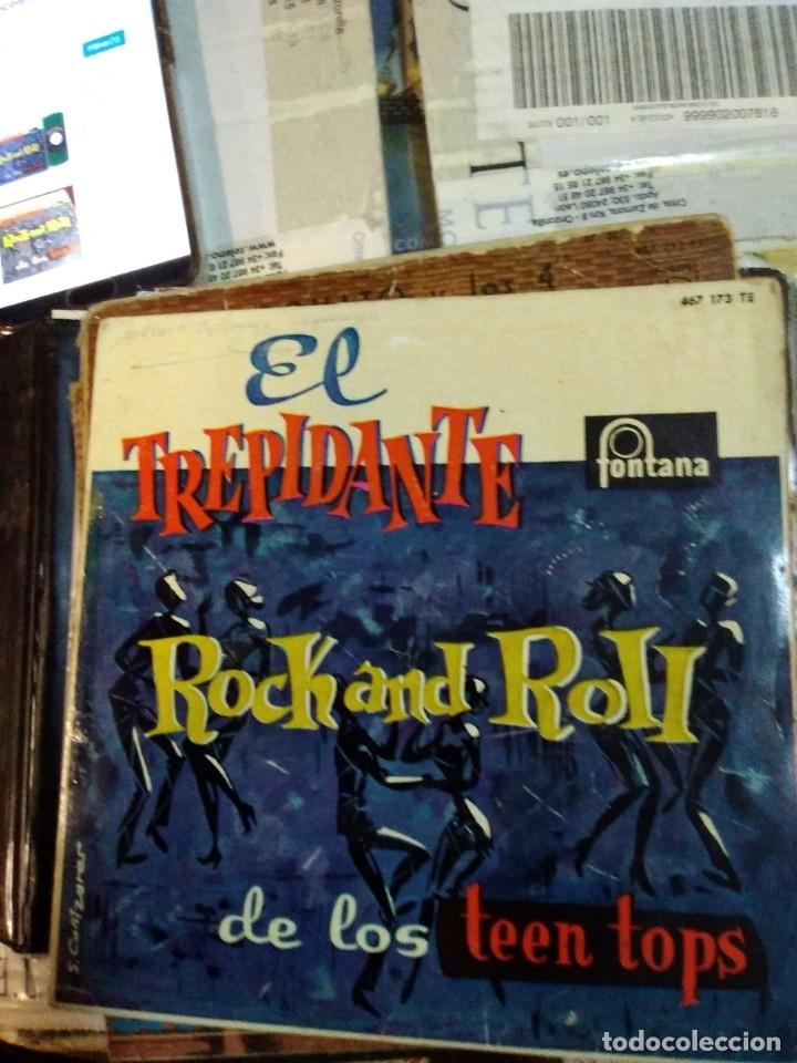 EL TREPIDANTE ROCK AND ROLL DE LOS TOPS (Música - Discos de Vinilo - EPs - Rock & Roll)