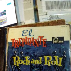 Discos de vinilo: EL TREPIDANTE ROCK AND ROLL DE LOS TOPS . Lote 178908852