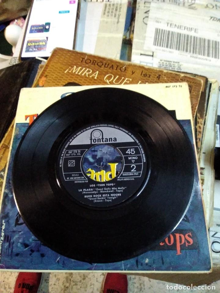 Discos de vinilo: El trepidante rock and roll de Los tops - Foto 3 - 178908852