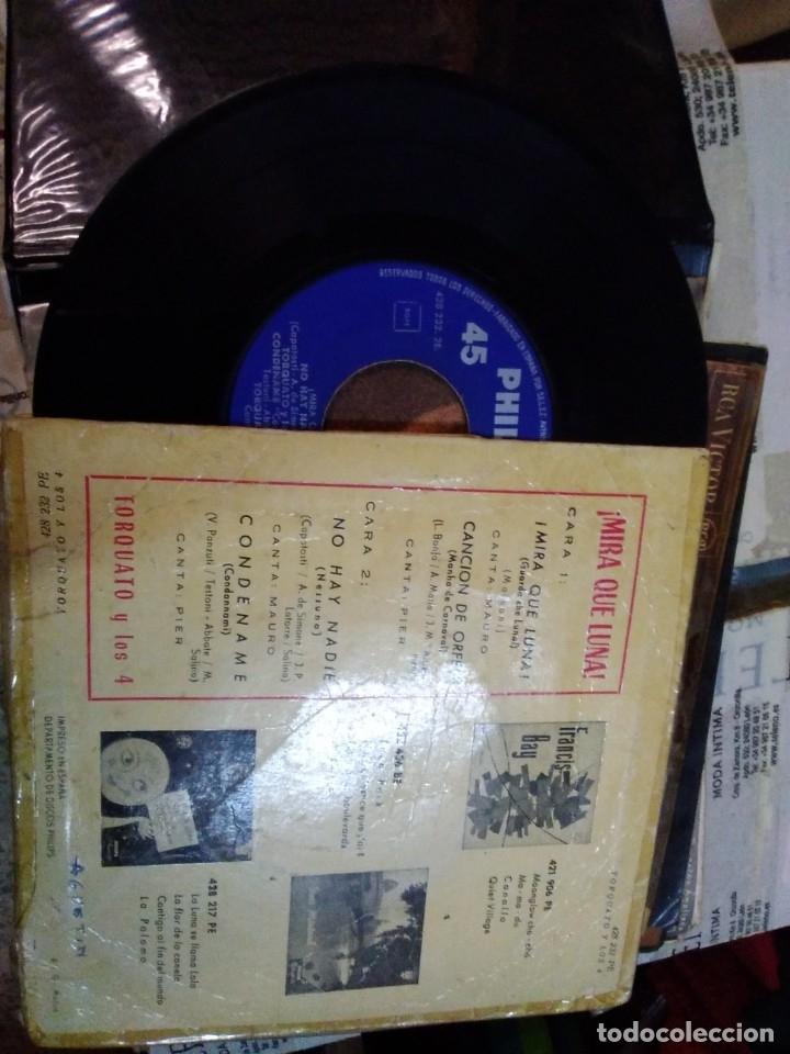Discos de vinilo: Torquato y los 4 mira que luna - Foto 2 - 178909128