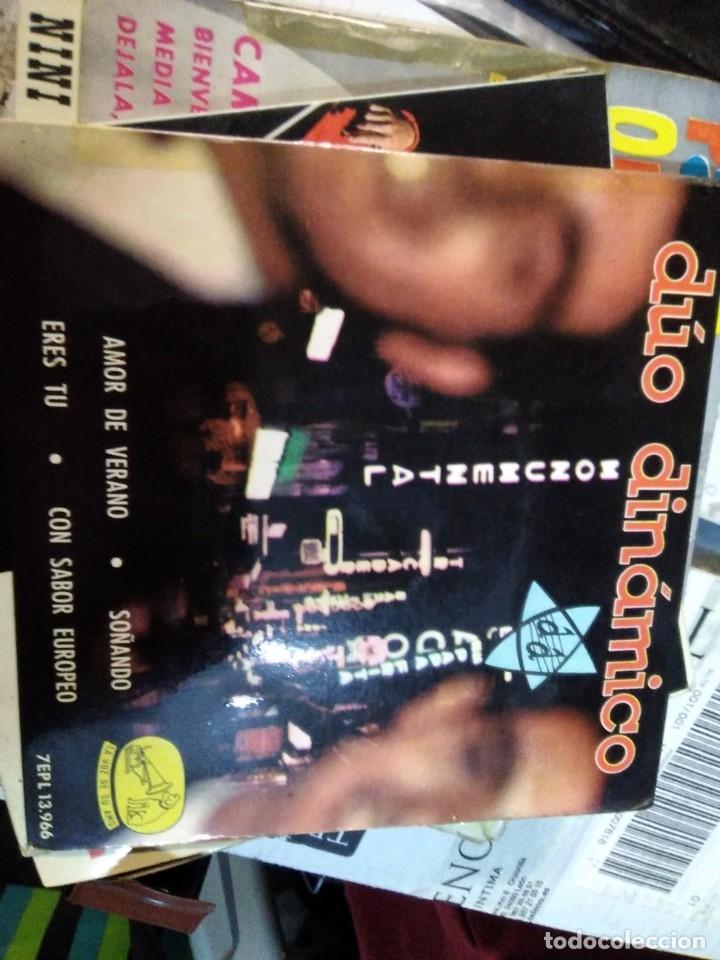 DUO DINAMICO AMOR DE VERANO/SOÑANDO/ERES TU/CON SABOR EUROPEO EP 1963 LA VOZ DE SU AMO (Música - Discos de Vinilo - EPs - Solistas Españoles de los 50 y 60)