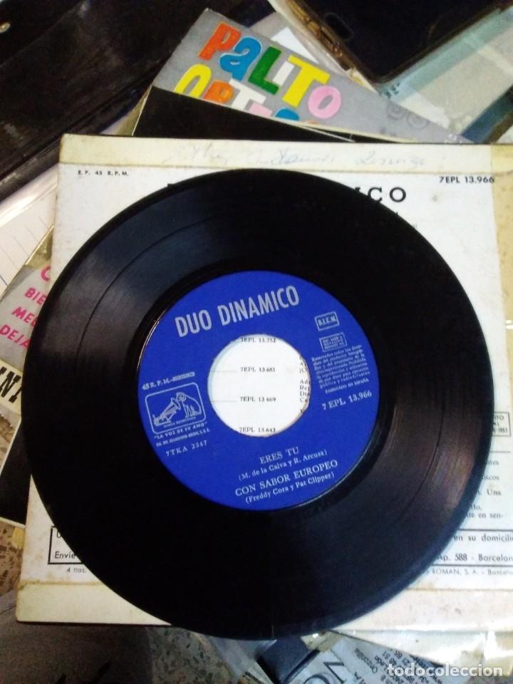 Discos de vinilo: DUO DINAMICO Amor de verano/Soñando/Eres tu/Con sabor europeo EP 1963 La voz de su amo - Foto 3 - 178909680