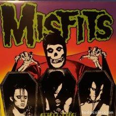 Discos de vinilo: MISFITS EVILIVE LP . PUNK ROCK HORROR SHOCK RAMONES THE CRAMPS DANZIG DEAD BOYS. Lote 178910928