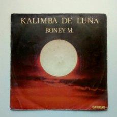 Discos de vinilo: BONEY M. - KALIMBA DE LUNA, CARRERE, 1984. FRANCE.. Lote 178911151