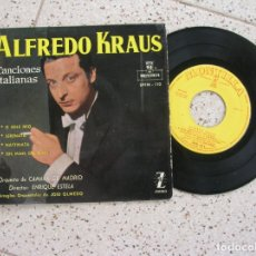 Discos de vinilo: DISCO DE ALFREDO KRAUS CANCIONES ITALIANAS AÑO 1959. Lote 178920958