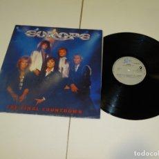 Discos de vinilo: EUROPE- THE FINAL COUNTDOWN. LP 1986. ENCARTE CON LAS CANCIONES. Lote 178922906