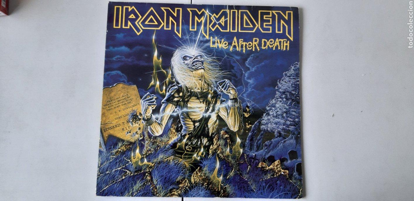 DOBLE LP. IRON MAIDEN. LIVE AFTER DEATH. (Música - Discos - LP Vinilo - Heavy - Metal)