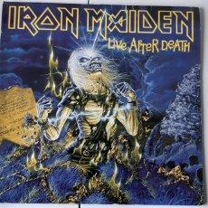 Discos de vinilo: DOBLE LP.IRON MAIDEN. LIVE AFTER DEATH. VG++. Lote 178924762