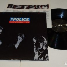 Discos de vinilo: THE POLICE THEIR GREATEST HITS LP 1990. Lote 178926193