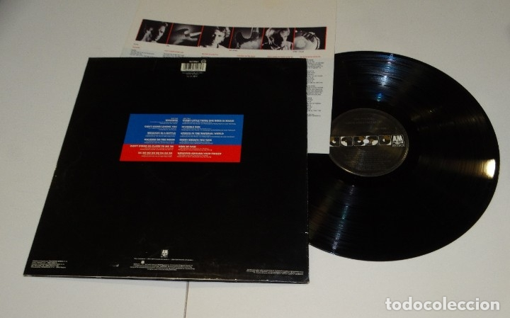 Discos de vinilo: THE POLICE THEIR GREATEST HITS LP 1990 - Foto 2 - 178926193