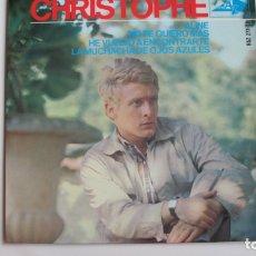 Discos de vinilo: CHRISTOPHE - ALINE + 3 - EP. Lote 178927433
