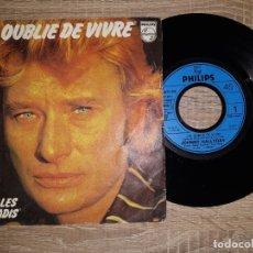Discos de vinilo: JOHNNY HALLYDAY .LES FILLES DU PARADIS.1977. Lote 178931303
