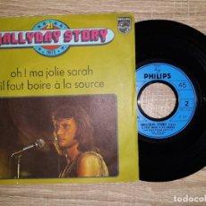 Discos de vinilo: JOHNNY HALLYDAY .1971 STORY . Lote 178931685