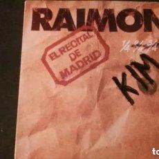 Discos de vinilo: DOBLE LP-RAIMON-EL RECITAL DE MADRID-1976. Lote 178932742
