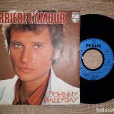 Discos de vinilo: JOHNNY HALLYDAY .DERRIERE L, AMOUR.1976.. Lote 178933948