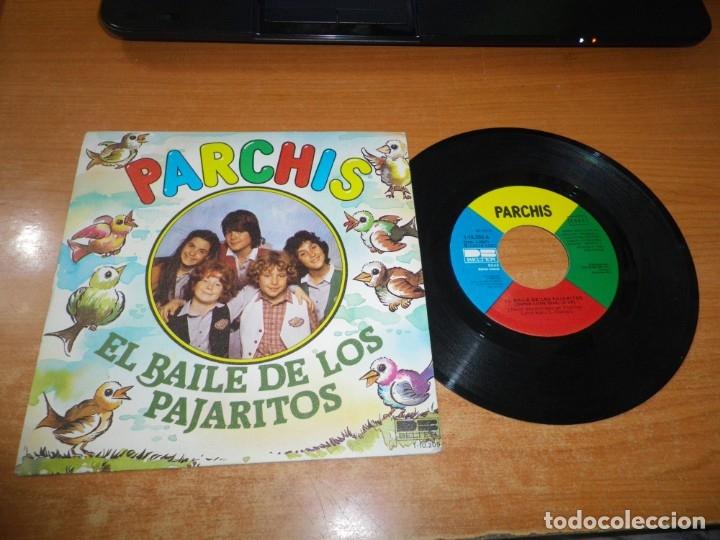 PARCHIS EL BAILE DE LOS PAJARITOS / EL BAILE DEL STOP SINGLE VINILO 1981 TINO FERNANDEZ 2 TEMAS (Música - Discos - Singles Vinilo - Música Infantil)