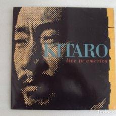 Discos de vinilo: KITARO, LIVE IN AMERICA. DOBLE LP EDICION ALEMANA 1991. BMG ARIOLA.. Lote 178939880