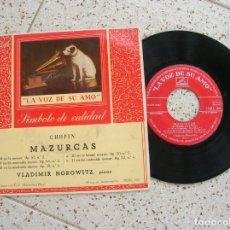 Discos de vinilo: DISCO DE MAZURCAS DE CHOPIN. Lote 178944613