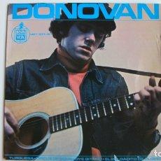 Discos de vinilo: DONOVAN SINGLE - TURQUESA + 3 - EP 1965. Lote 178945670