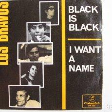 Discos de vinilo: BLACK IS BLACK EP LOS BRAVOS 1966. Lote 178946300