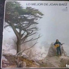 Discos de vinilo: LP-LO MEJOR DE JOAN BAEZ-HISPAVOX. Lote 178946360