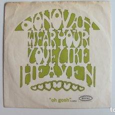 Discos de vinilo: DONOVAN - WEAR YOUR LOVE LIKE HEAVEN - EPIC . Lote 178946693