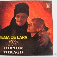 Discos de vinilo: BANDA SONORA - DOCTOR ZHIVAGO TEMA DE LARA EP 1966. Lote 178946881