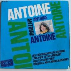 Discos de vinilo: ANTOINE / LAS LUCUBRACIONES DE ANTOINE / ¿PARA QUE ESTOS CAÑONES? ...EP DE 1966 . Lote 178946928