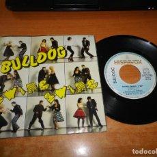 Discos de vinilo: BULLDOG SWING SWING / LA REINA DE LA PLAYA SINGLE VINILO AÑO 1984 CONTIENE 2 TEMAS ROCKABILLY RARO. Lote 178947430
