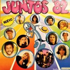 Discos de vinilo: LP VARIOS - JUNTOS 82, 1982, HISPAVOX – S 90.691, EN MUY BUEN ESTADO(VG++_EX). Lote 178948043