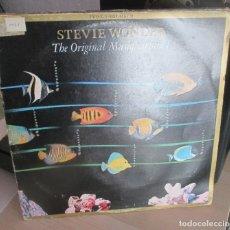 Discos de vinilo: LP VINILO - STEVIE WONDER - THE ORIGINAL MUSIQUARIUM - LP DOBLE RECOPILATORIO. Lote 178953043