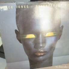 Discos de vinilo: GRACE JONES - BULLETPROOF HEART - CAPITOL LP 1989. Lote 178953227