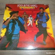 Discos de vinilo: KOOL & THE GANG - EMERGENCY. Lote 178954288