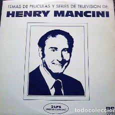 Discos de vinilo: HENRY MANCINI - TEMAS DE PELÍCULAS Y SERIES DE TELEVISIÓN. Lote 178954527
