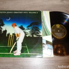 Discos de vinilo: ELTON JOHN - GREATEST HITS VOLUME II. Lote 178954670