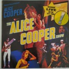 Discos de vinilo: ALICE COOPER - THE ALICE COOPER SHOW - WARNER BROS. RECORDS - K 56 439 - EUROPA - RECORDED LIVE 77. Lote 178955888