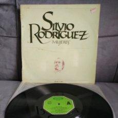 Discos de vinilo: SILVIO RODRÍGUEZ - MUJERES. Lote 178956525