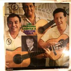 Discos de vinilo: LOS PANCHOS CANTAN A AGUSTIN LARA . Lote 178957810