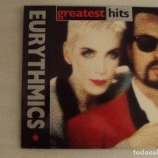 Discos de vinilo: EURYTHMICS. GREATEST HITS. LP EDICION ESPAÑOLA 1991 BMG RECORDS. Lote 178958033