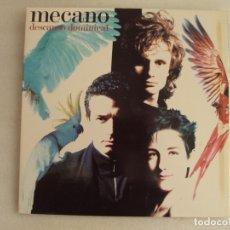 Discos de vinilo: MECANO. DESCANSO DOMINICAL. LP EDICION ESPAÑOLA 1988 ARIOLA, CARPETA TRIPLE.. Lote 178959087