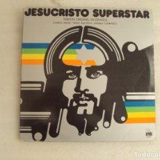 Discos de vinilo: JESUCRISTO SUPERSTAR, VERSIÓN ORIGINAL EN ESPAÑOL. DOBLE LP EDICIÓN ESPAÑOLA 1975 ARIOLA. Lote 178960451