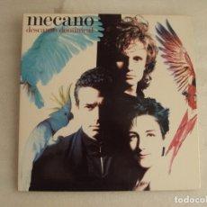 Discos de vinilo: MECANO, DESCANSO DOMINICAL. LP EDICION ESPAÑOLA 1988 ARIOLA EURODISC. CARPETA TRIPLE.. Lote 178960880